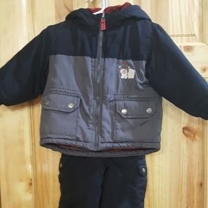 18 month snow pants/bibs and jacket